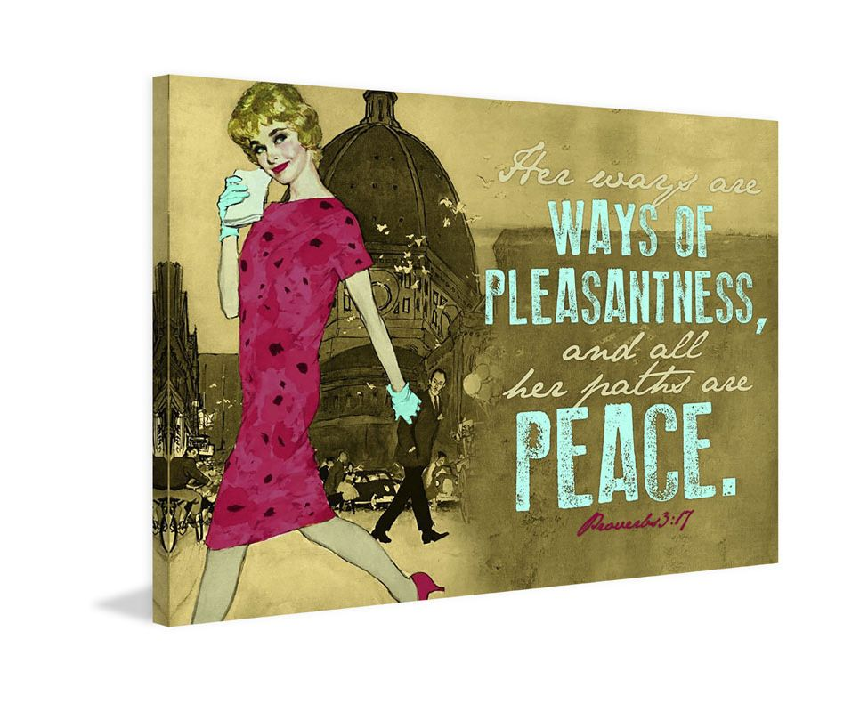 Marmont Hill Ways of Pleasantness Saturday Evening Post Print on