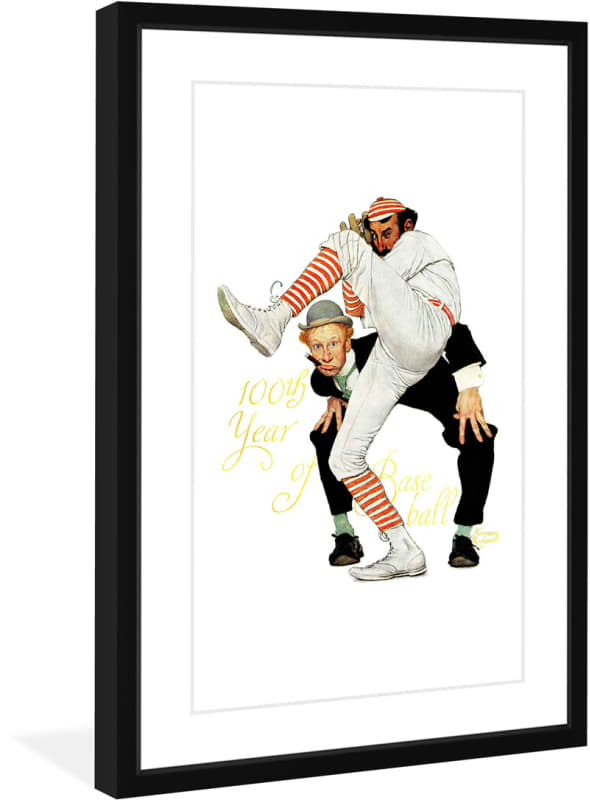 Marmont Hill 100th Anniversary of Baseball - Framed Print Norman Sale $153.46 ITEM: bci2816945 ID#:MH-RCK-T80-9390708-BFP-36 UPC: 714367480879 :