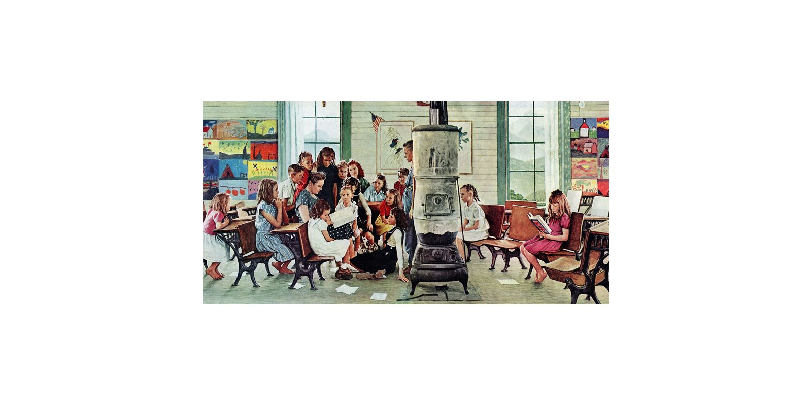 norman rockwell s world an american dream Norman rockwell's worldan american dream - currently unavailable presents the world of american illustrator norman rockwell (1894-1978) through reenactment, stills, paintings, and old film footage.