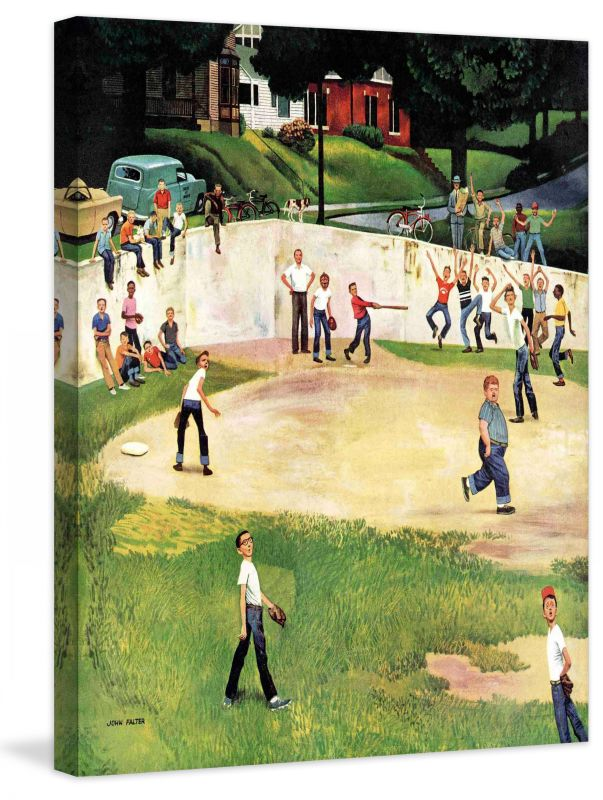 Marmont Hill Sandlot Homerun Fine art canvas print from the Marmont Sale $162.69 ITEM: bci2738426 ID#:MH-SEPSP-122-C-29 UPC: 714367397504 :