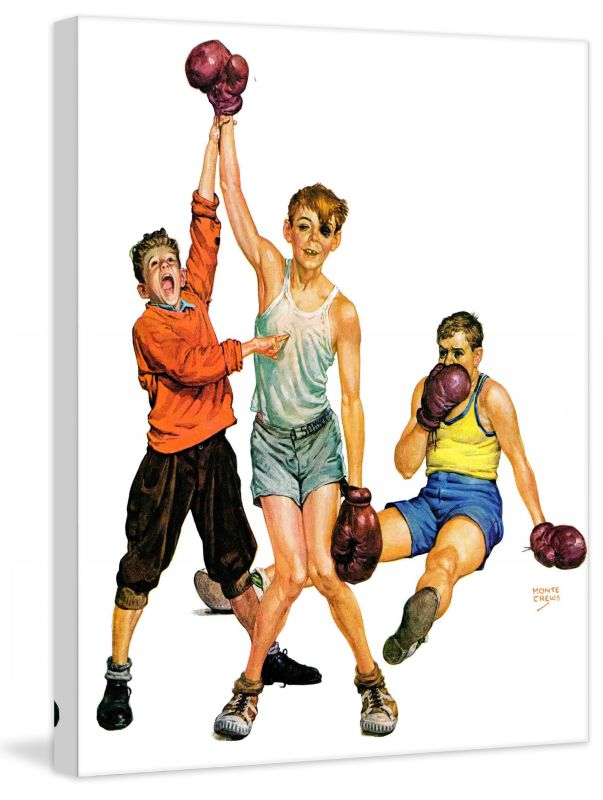 Marmont Hill Boxing Champ Fine art canvas print from the Marmont Hill Sale $162.69 ITEM: bci2738561 ID#:MH-SEPSP-49-C-29 UPC: 714367401751 :