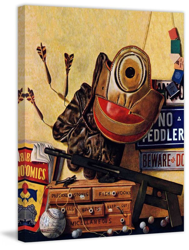 Marmont Hill Still Life Of Boys Toys Fine art canvas print from the Sale $162.69 ITEM: bci2738151 ID#:MH-SEPSP-76-C-29 UPC: 714367402567 :