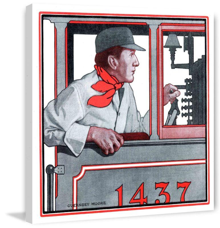 Marmont Hill Vintage 1437 Print on Canvas 40 x 40 Home Decor Canvas Sale $235.00 ITEM: bci2819837 ID#:MH-SEPTRAV-02-C-40 UPC: 763250462508 :
