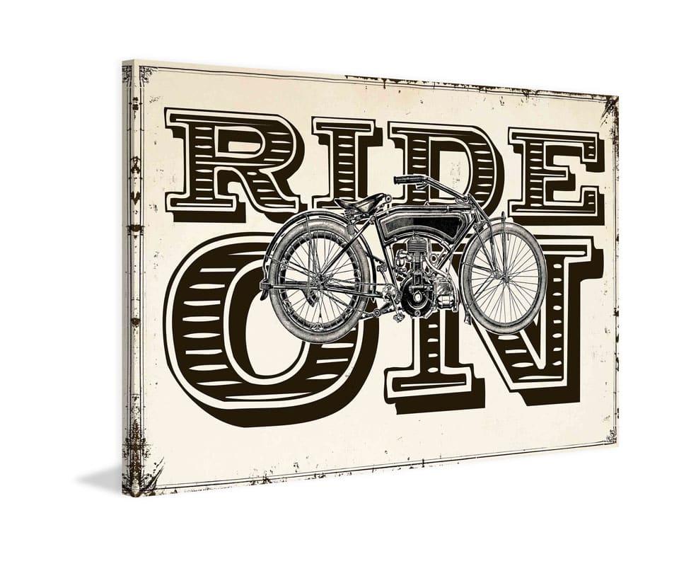 Marmont Hill Ride On Print on Canvas 20 x 30 Home Decor Canvas Art Sale $147.31 ITEM: bci2819007 ID#:MH-SEPTRAV-07-C-30 UPC: 763250462706 :