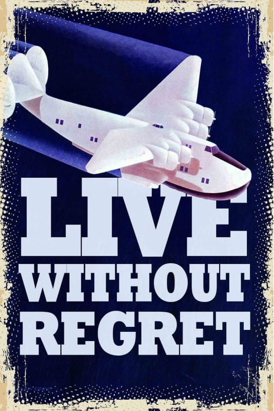 Marmont Hill Live Without Regret Print on Canvas 30 x 20 Home Decor Sale $147.31 ITEM: bci2818321 ID#:MH-SEPTRAV-36-C-30 UPC: 763250460962 :