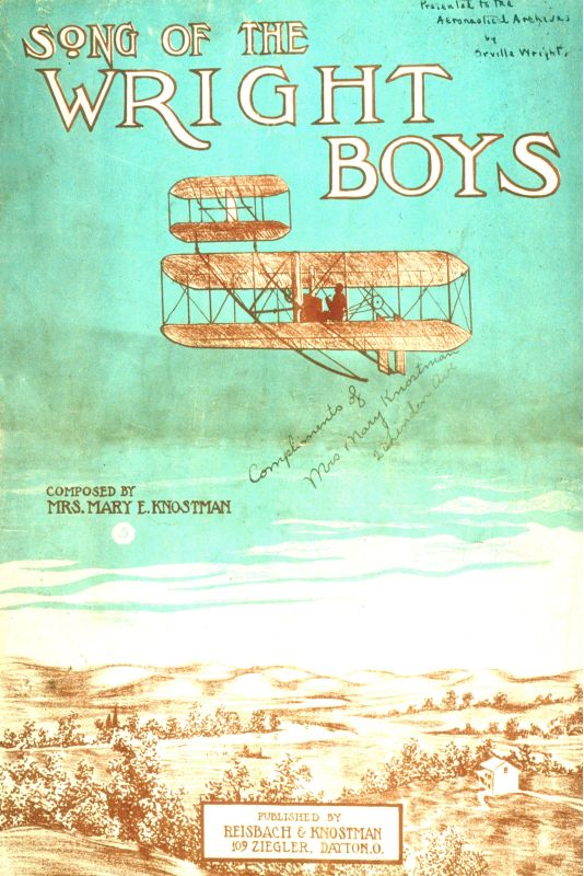 Marmont Hill Wright Brothers - Art Print on Premium Canvas Smithsonian