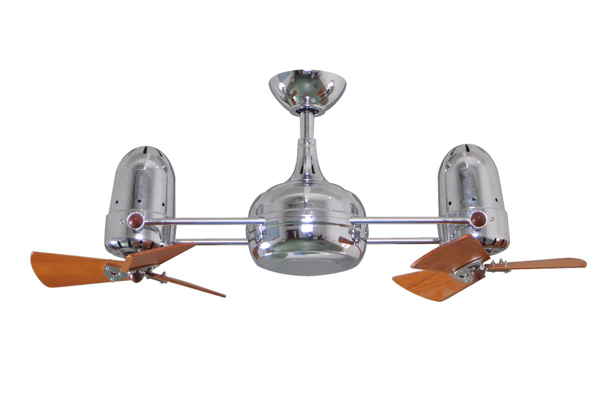 """Matthews Fan Company DG-CR-WD Dagny 41"""" Rotational Ceiling Fan -"""