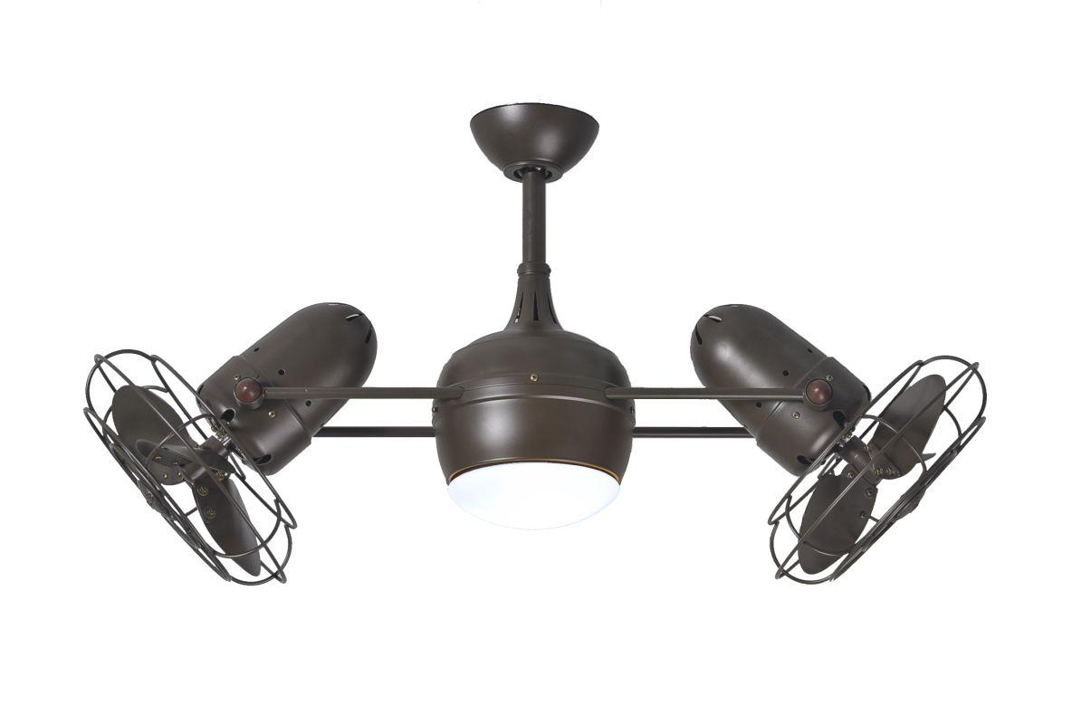 """Matthews Fan Company DGLK-MTL Dagny 39"""" Rotational Ceiling Fan with"""