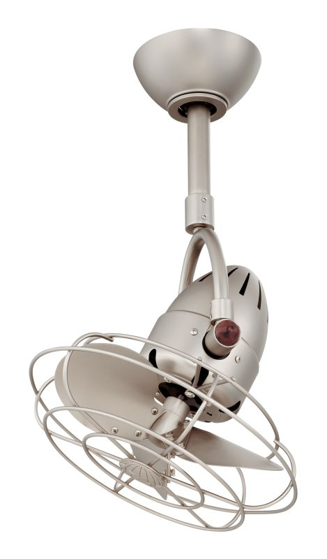 "Matthews Fan Company DI-MTL Diane 13"" Oscillating Ceiling Fan - Blades"