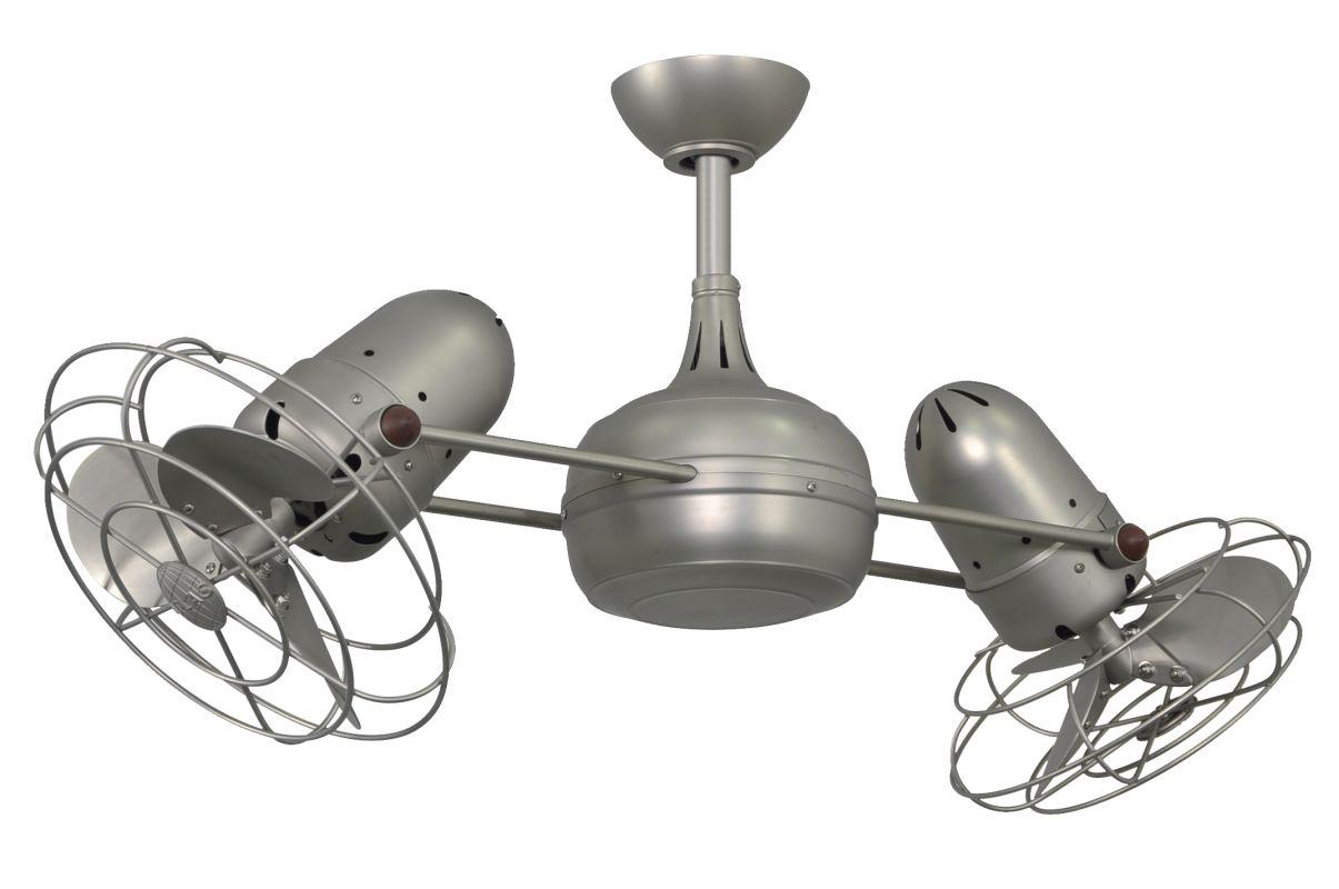 "Matthews Fan Company DG-BN-MTL-DC Atlas Dagny 39"" Dual Rotational"