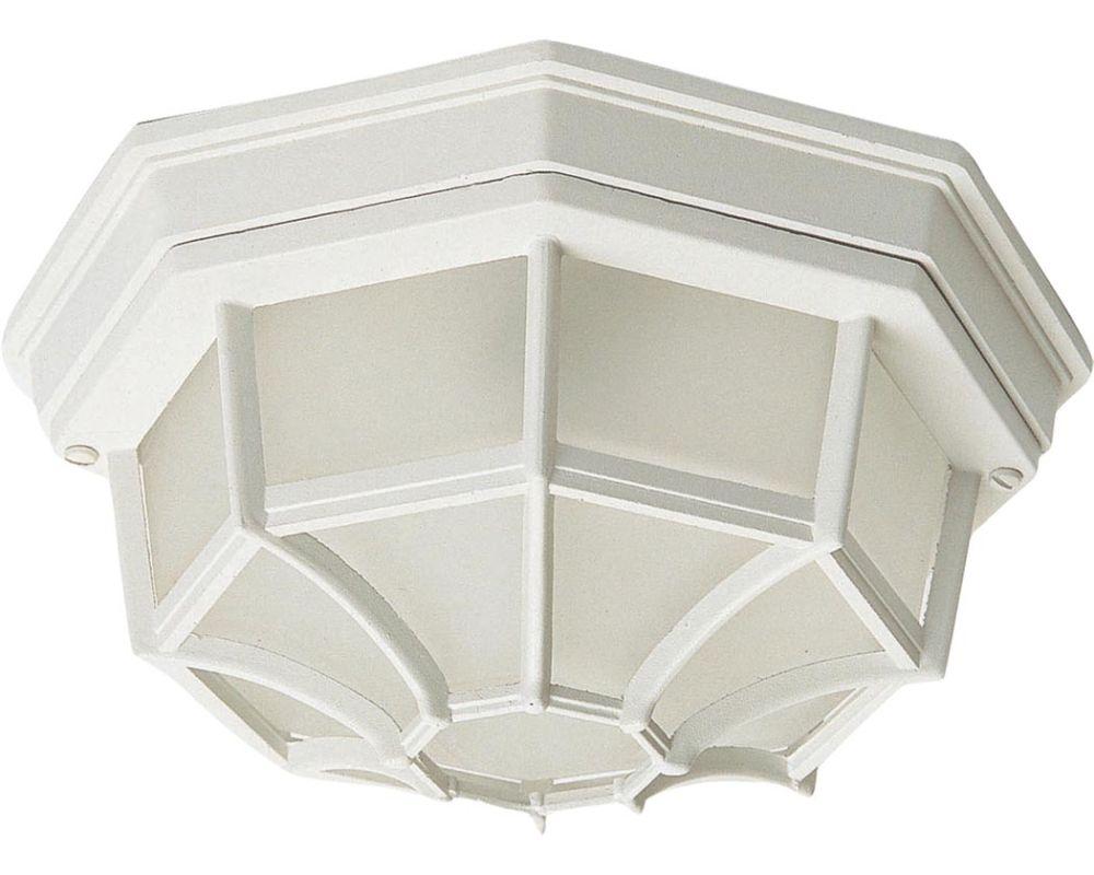 Maxim MX 1020 Crown Hill 2-Bulb Flush Mount Outdoor Ceiling Fixture -