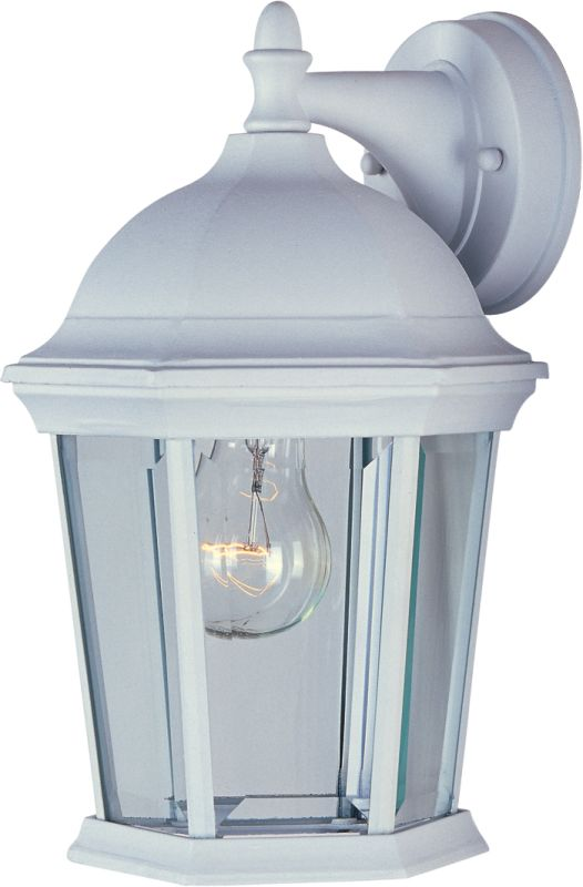 """Maxim 1024 1 Light 12"""" Tall Outdoor Wall Sconce from the Builder Cast"""