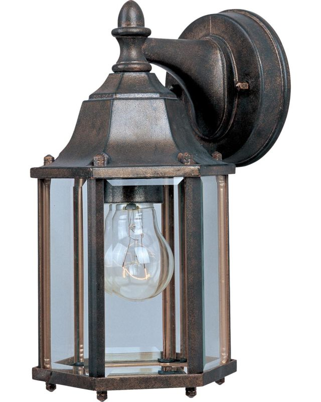 "Maxim 1026 1 Light 10"" Tall Outdoor Wall Sconce from the Builder Cast"