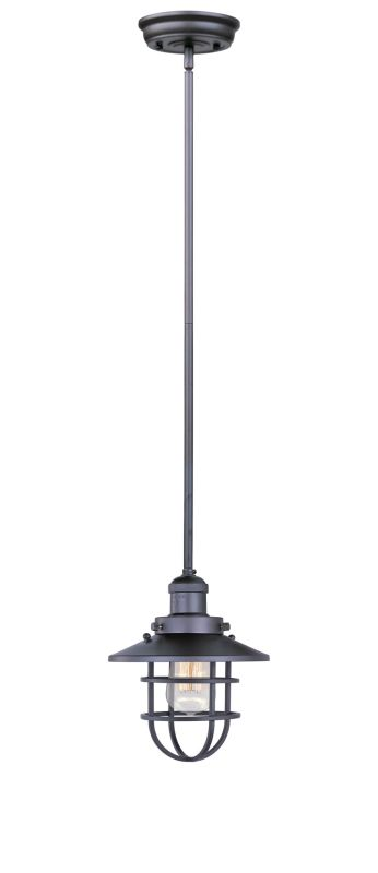 Maxim 25050 1 Light 8&quote Wide Pendant from the Mini Hi-Bay Collection