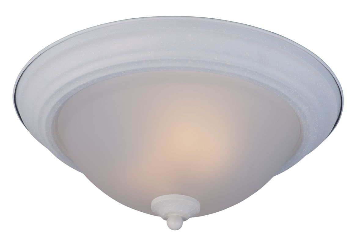 "Maxim 85841-LQ 2 Light 13.5"" Wide Flush Mount Ceiling Fixture from the"
