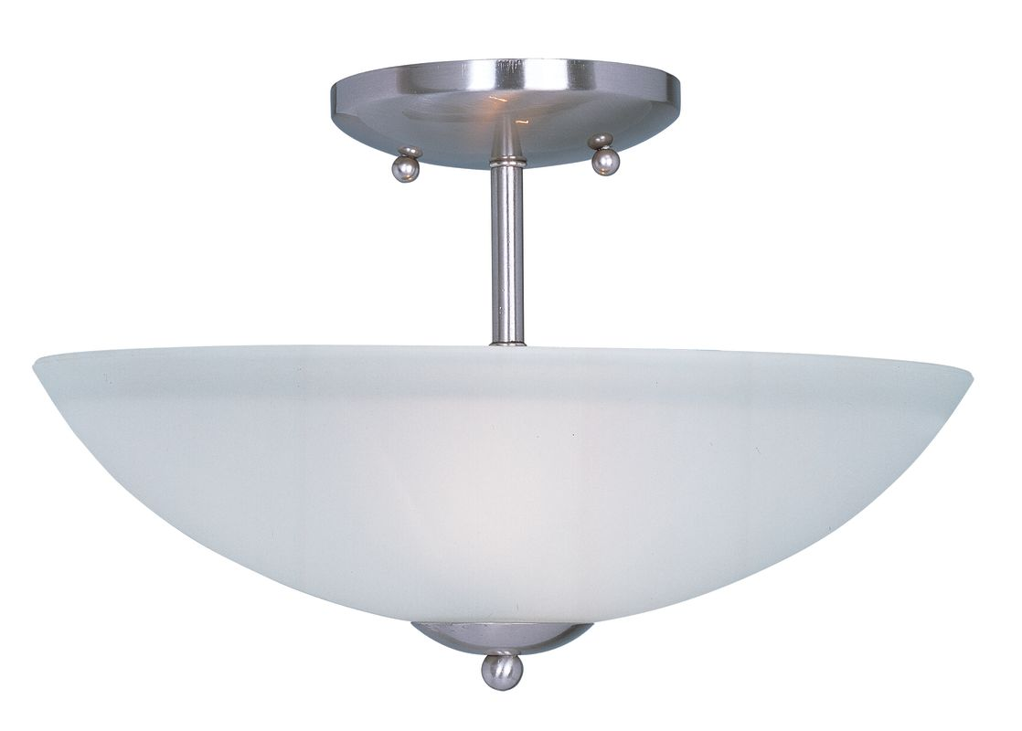 "Maxim 10042 2 Light 13"" Wide Semi-Flush Ceiling Fixture from the Logan"