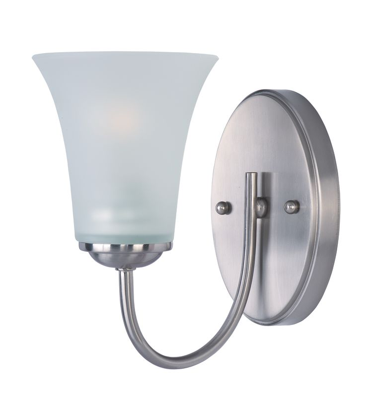 "Maxim 10051 1 Light 8.5"" Tall Bathroom Sconce From the Logan"