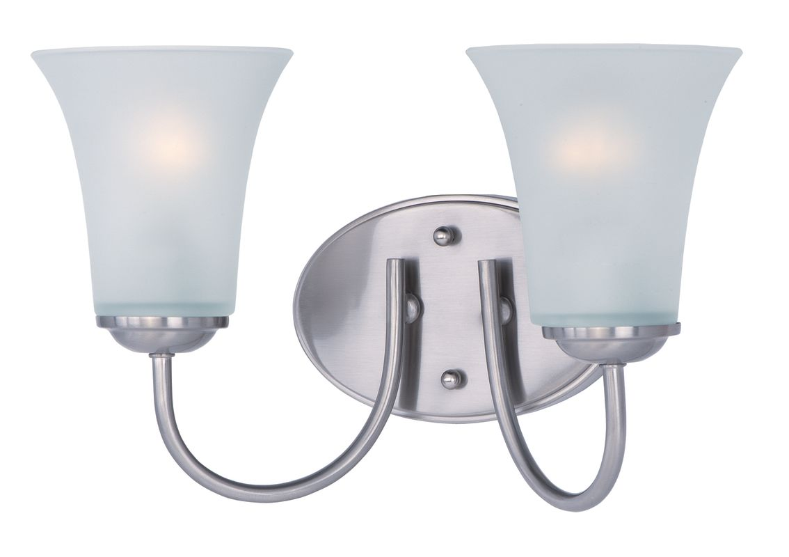 "Maxim 10052 2 Light 14"" Wide Bathroom Fixture from the Logan"