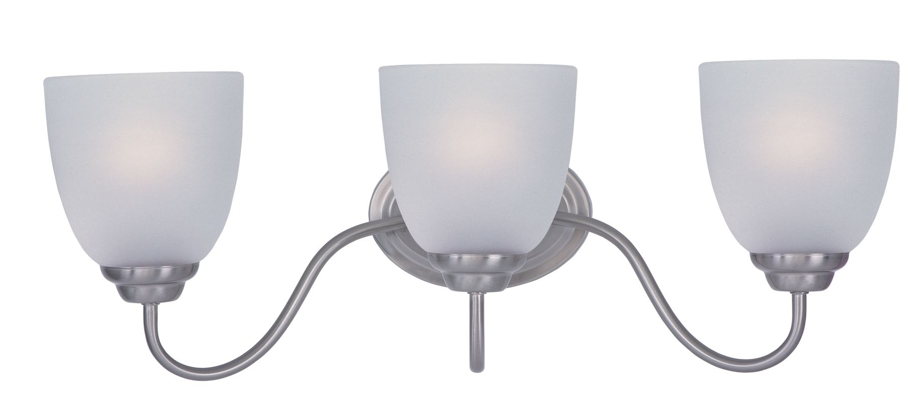 "Maxim 10073 3 Light 21.5"" Wide Bathroom Fixture from the Stefan"