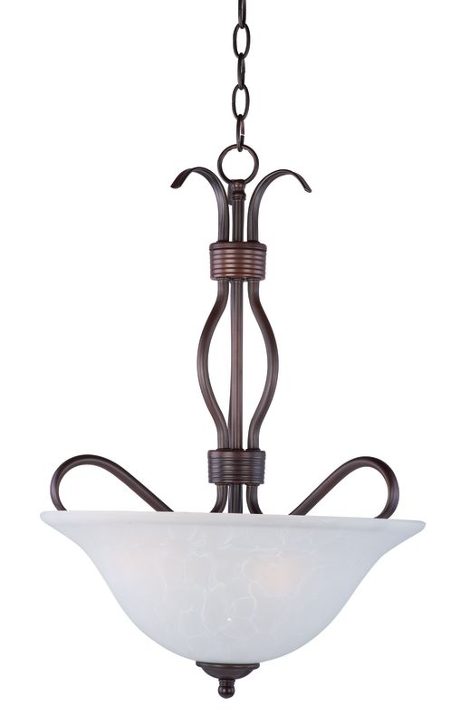"Maxim 10121 3 Light 17"" Wide Pendant from the Basix Collection Oil"