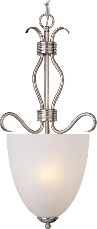 """Maxim 10130 2 Light 13"""" Wide Pendant from the Basix Collection Satin"""