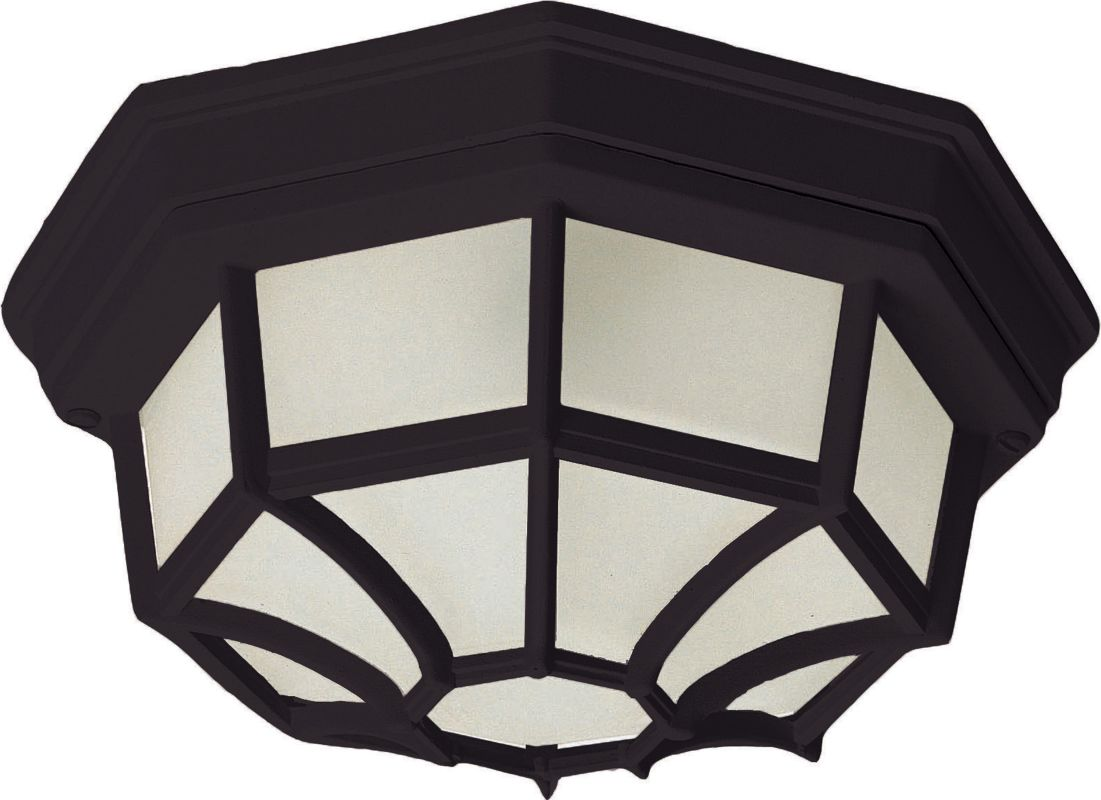Maxim 1020 Crown Hill 2-Bulb Flush Mount Outdoor Ceiling Fixture -