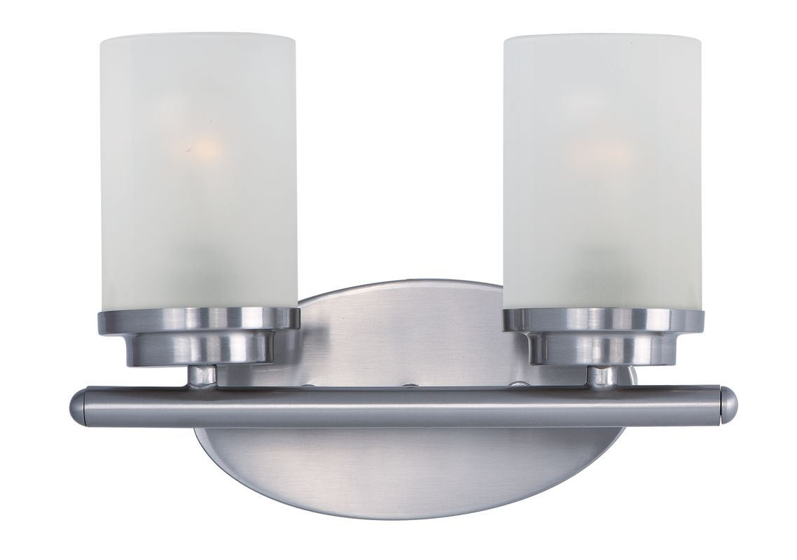 Maxim 10212 2 Light 12&quote Wide Bathroom Fixture from the Corona