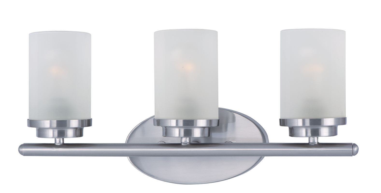 Maxim 10213 3 Light 19.25&quote Wide Bathroom Fixture from the Corona