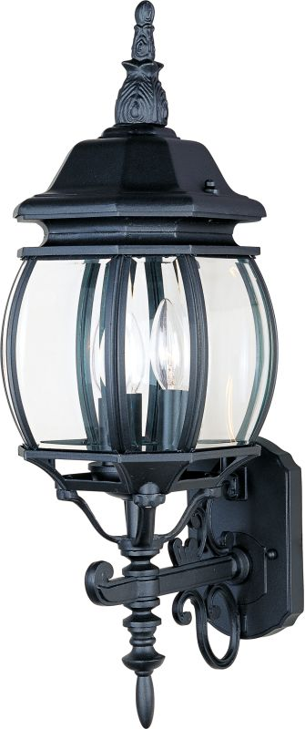"Maxim 1033 3 Light 23.5"" Tall Outdoor Wall Sconce from the Crown Hill"