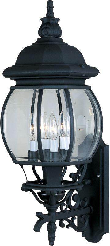 "Maxim 1037 4 Light 28.5"" Tall Outdoor Wall Sconce from the Crown Hill"