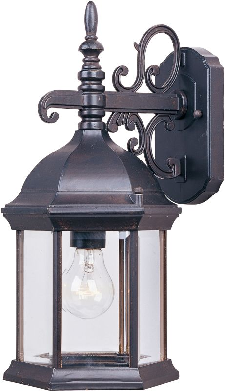 "Maxim 1071 1 Light 16"" Tall Outdoor Wall Sconce from the Builder Cast"