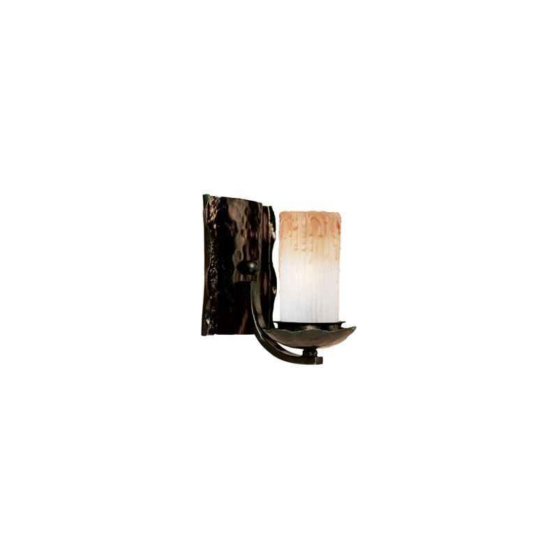 """Maxim 10970 1 Light 8"""" Tall Wall Sconce from the Notre Dame Collection"""