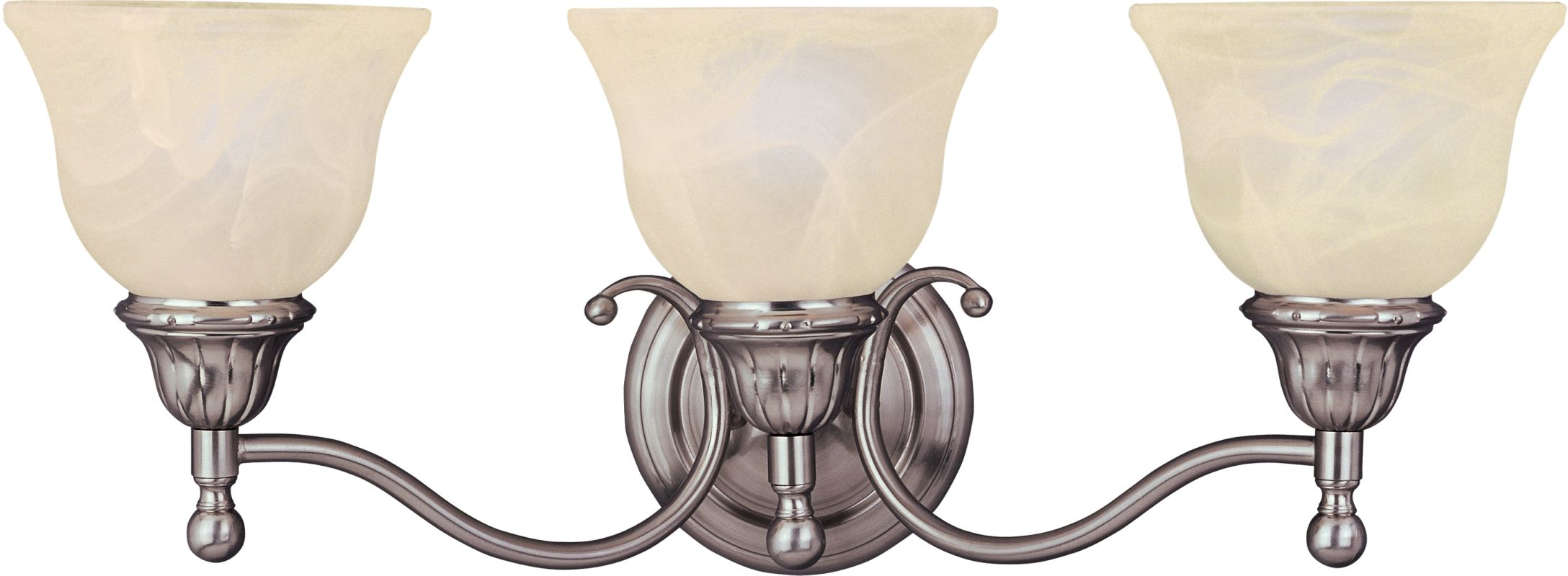 "Maxim 11058 3 Light 23.5"" Wide Bathroom Fixture from the Soho"