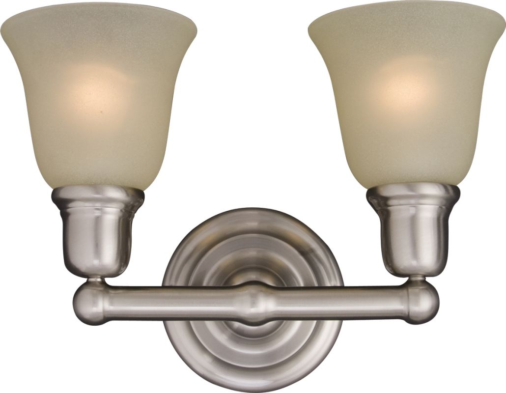 "Maxim 11087 2 Light 15.5"" Wide Bathroom Fixture from the Bel Air"