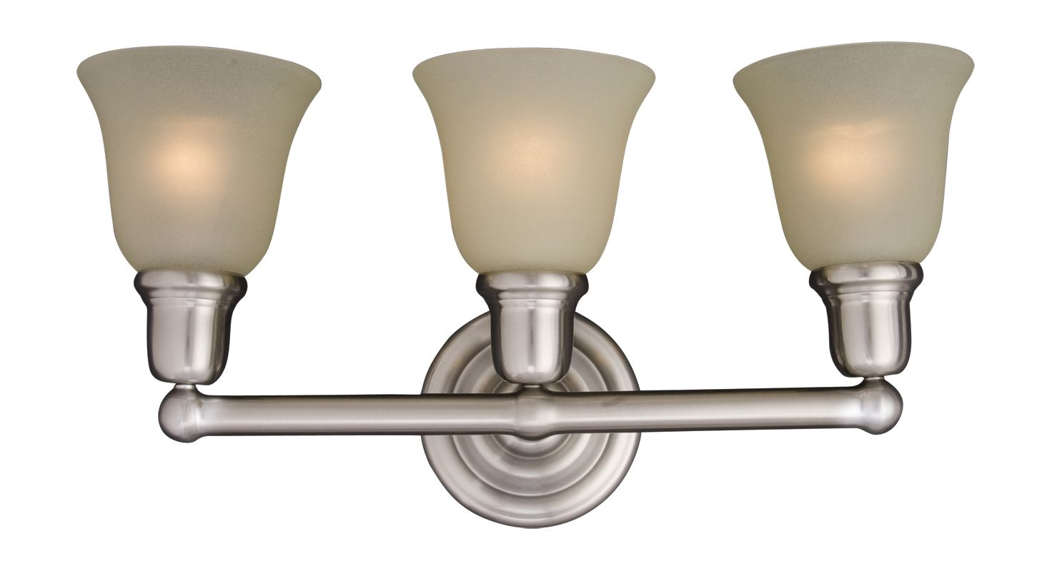 "Maxim 11088 3 Light 22.5"" Wide Bathroom Fixture from the Bel Air"