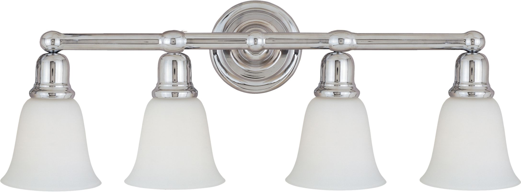 "Maxim 11089 4 Light 30.5"" Wide Bathroom Fixture from the Bel Air"