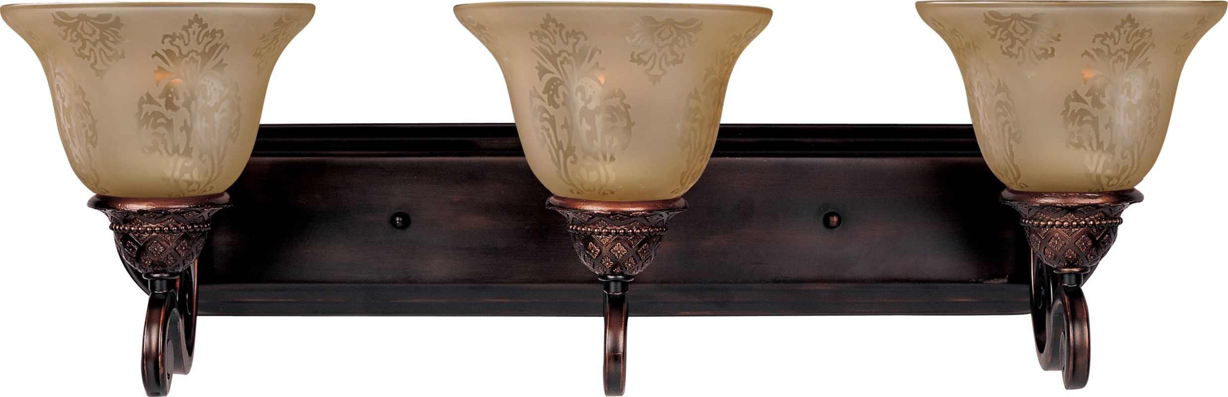 """Maxim 11232 3 Light 26"""" Wide Bathroom Fixture from the Symphony"""