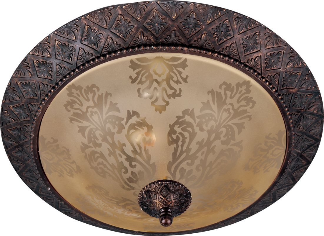 "Maxim 11240 2 Light 19"" Wide Flush Mount Ceiling Fixture from the"