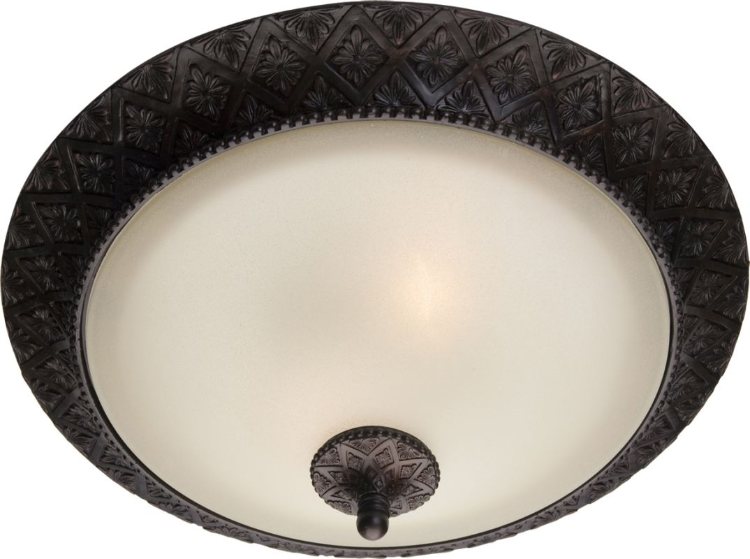 """Maxim 11240 2 Light 19"""" Wide Flush Mount Ceiling Fixture from the"""