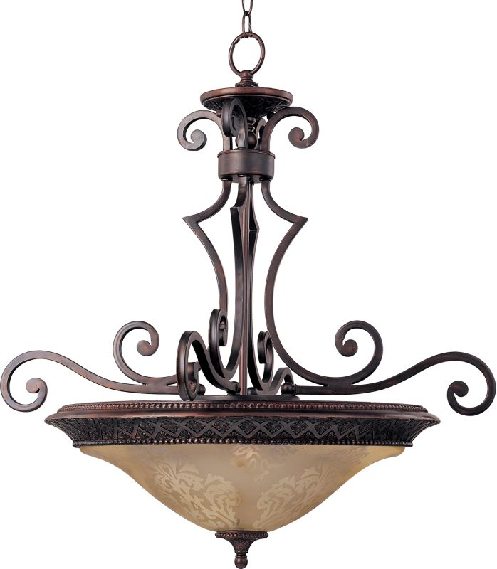 """Maxim 11242 3 Light 27"""" Wide Pendant from the Symphony Collection Oil"""