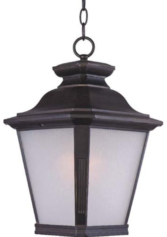 Maxim 1129 Knoxville 1 Light Outdoor Hanging Lantern Bronze Outdoor