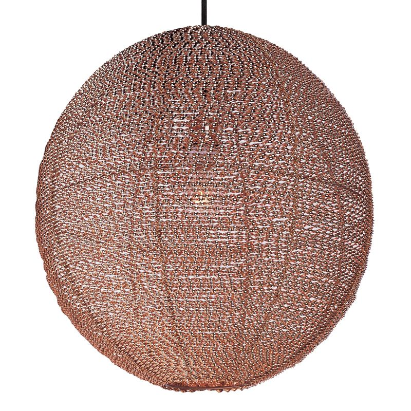 """Maxim 12195 1 Light 20"""" Wide Pendant from the Twisp Collection Copper"""