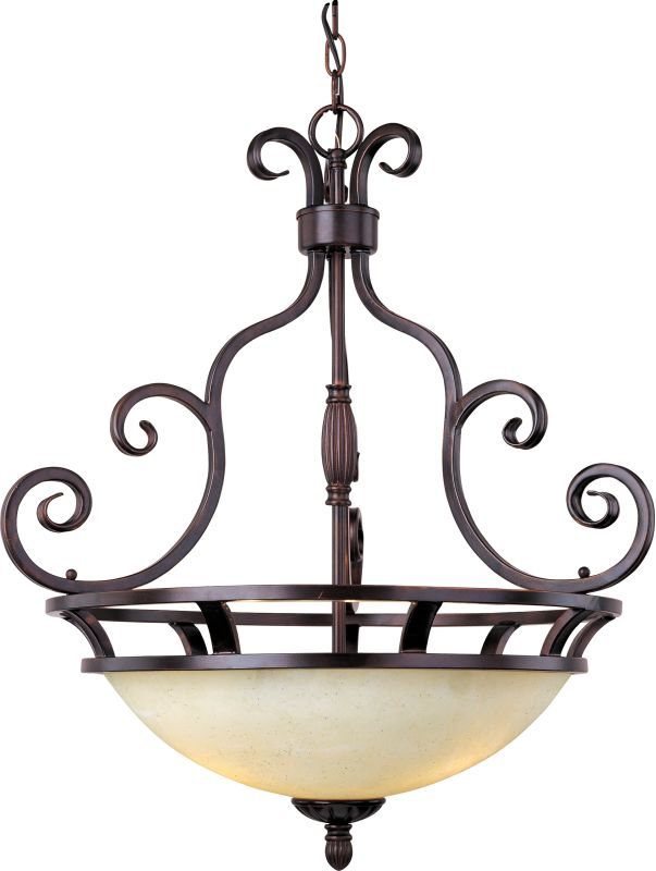 "Maxim 12202 3 Light 23"" Wide Pendant from the Manor Collection Oil"