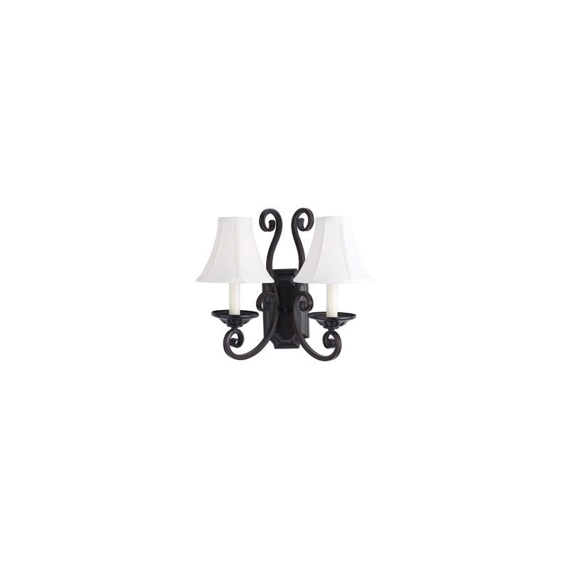 """Maxim 12218/SHD123 2 Light 14.5"""" Tall Wall Sconce from the Manor"""