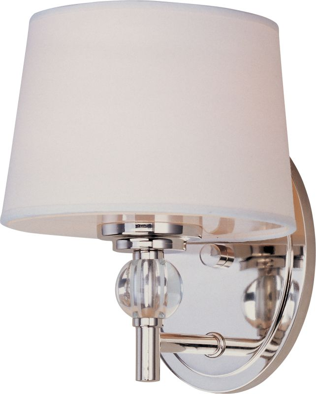 "Maxim 12761 1 Light 8.5"" Tall Wall Sconce from the Rondo Collection"