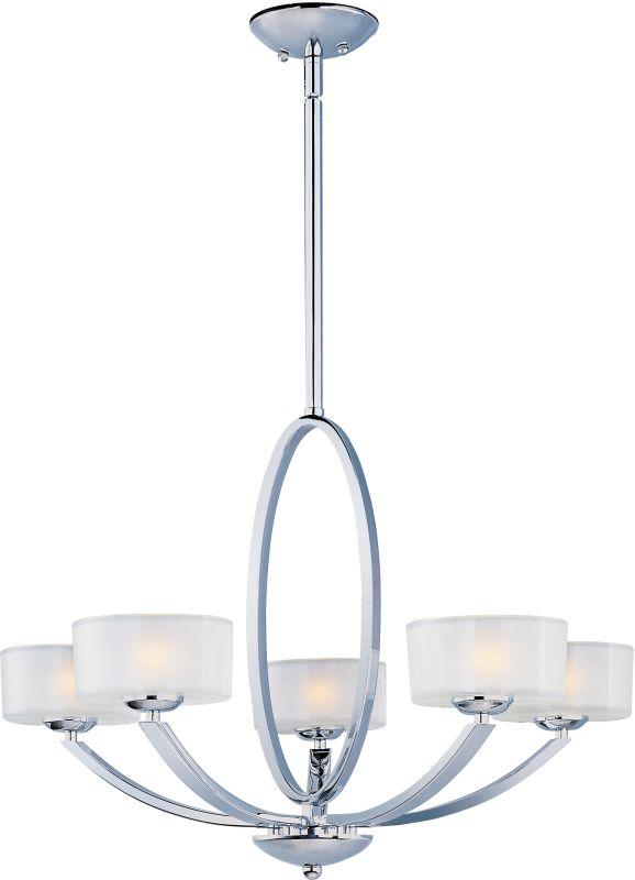 Maxim 19045 Elle 5 Light Single-Tier Chandelier Polished Chrome / Sale $458.00 ITEM: bci2629483 ID#:19045FTPC UPC: 783209087378 :