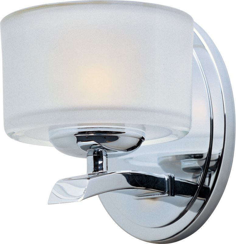 "Maxim 19051 1 Light 6.5"" Tall Bathroom Sconce From the Elle Collection"