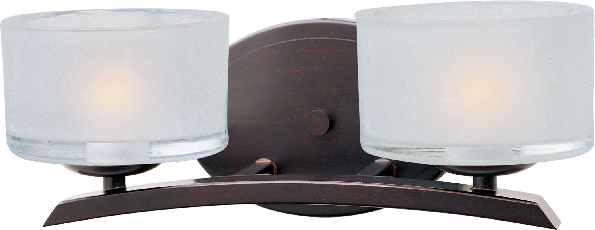 "Maxim 19052 2 Light 13"" Wide Bathroom Fixture from the Elle Collection"