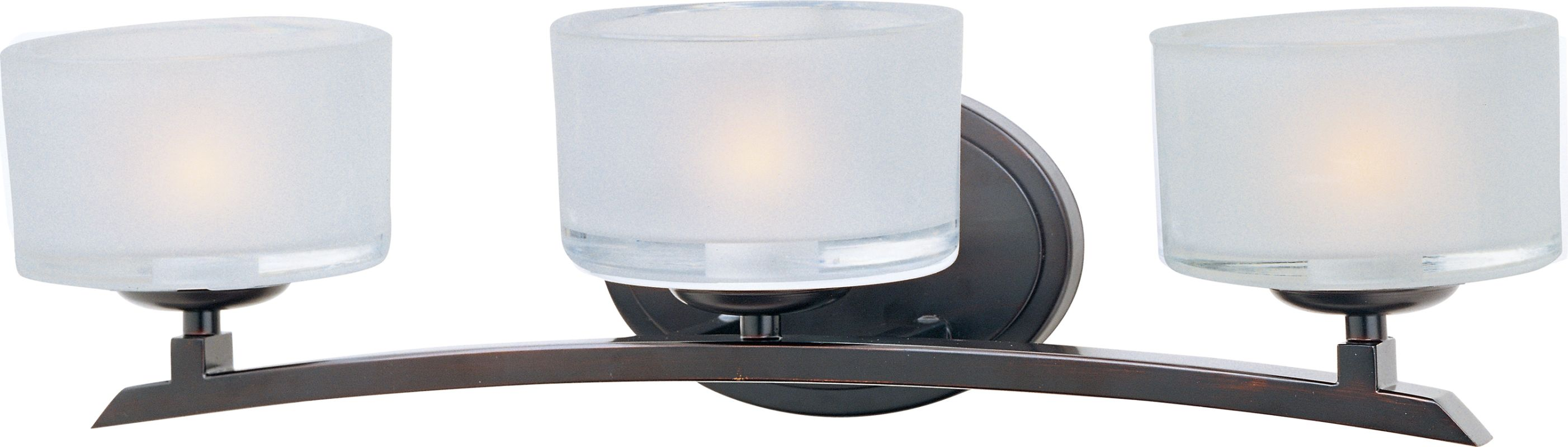 "Maxim 19053 3 Light 20.5"" Wide Bathroom Fixture from the Elle"