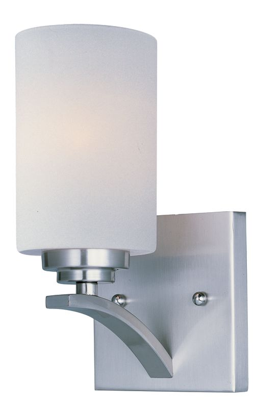 """Maxim 20030 1 Light 9"""" Tall Wall Sconce from the Deven Collection"""